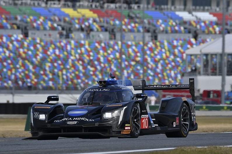 Daytona 24 Hours Castroneves Says Cadillac Holding Back True Pace