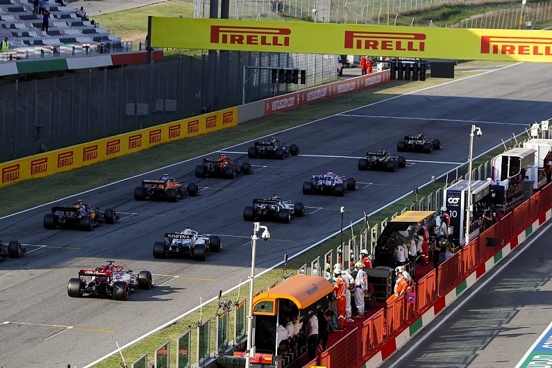 F1 Tuscan GP: Hamilton takes hectic Mugello victory after two red flags - Motor Informed