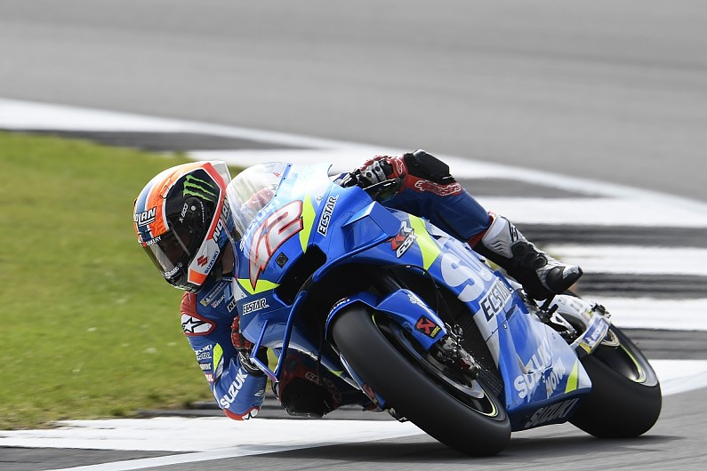 Rins just beats Marquez to win thrilling MotoGP race at Silverstone