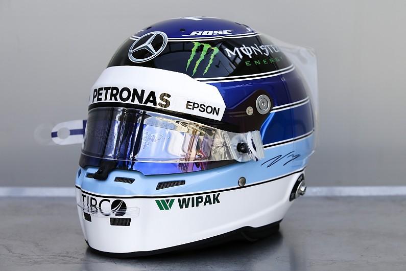 Valtteri Bottas to use Mika Hakkinen helmet for Monaco Grand