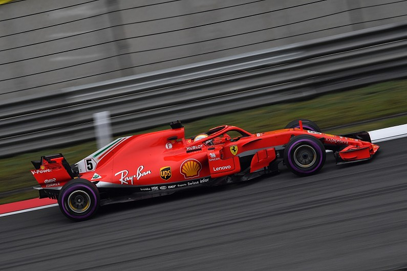 formula 1 vettel tops final practice as red bull hits trouble f1