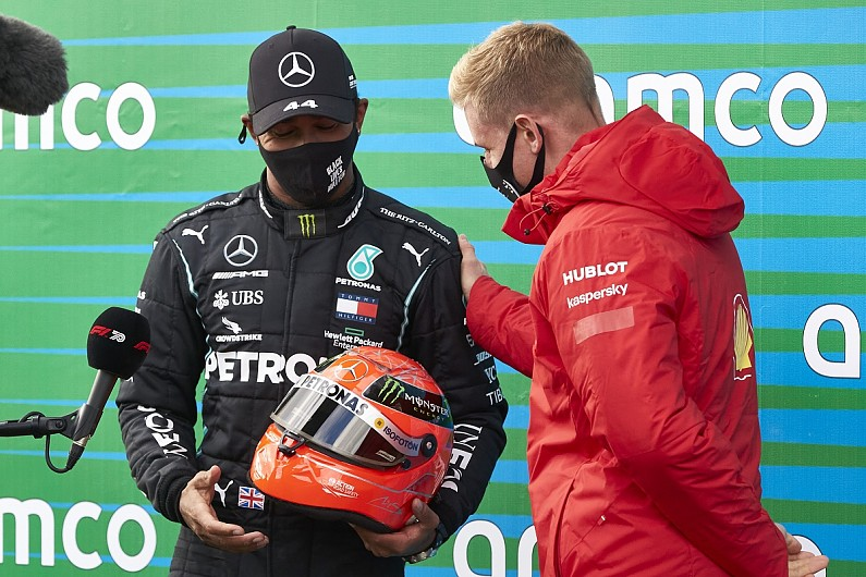 """Hamilton """"incredibly humbled"""" to be honoured by Schumacher's family - Motor Informed"""