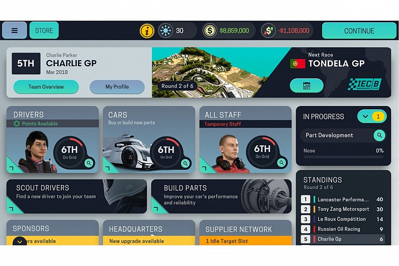 Motorsport Manager Mobile 3apk android, pc et ios