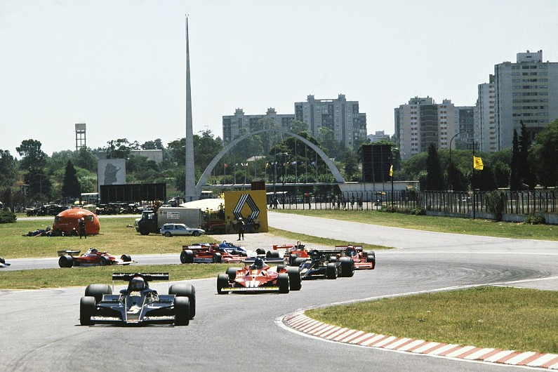 Formula Race Director Whiting Evaluates Buenos Aires Circuit