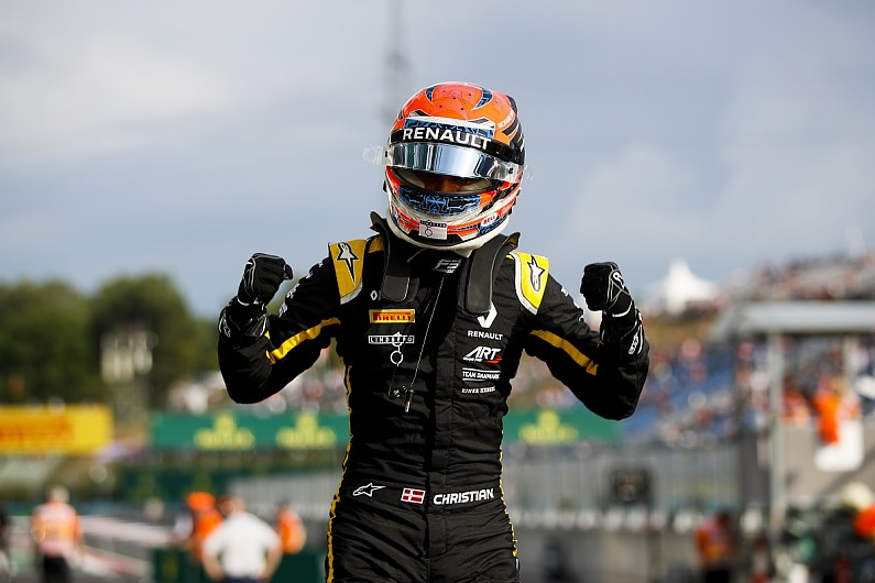 Hungary F3: Lundgaard holds off Fewtrell to seal lights-to-flag win