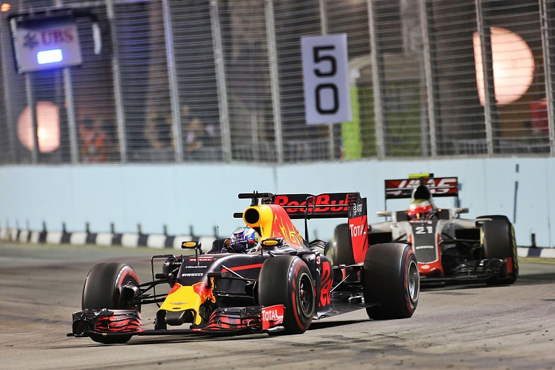 daniel ricciardo s tyres ran out of steam in singapore gp chase f1 autosport autosport