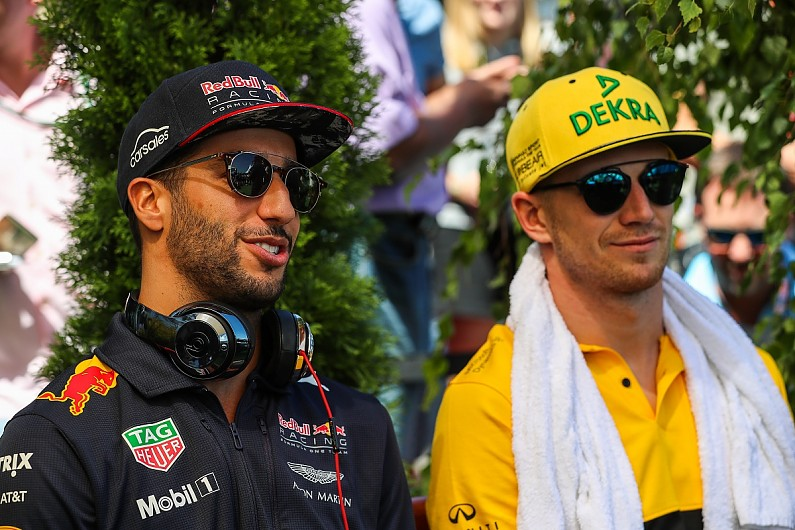 Ricciardo Not Fooled By 2019 Renault F1 Team Mate Hulkenberg Record F1 Autosport
