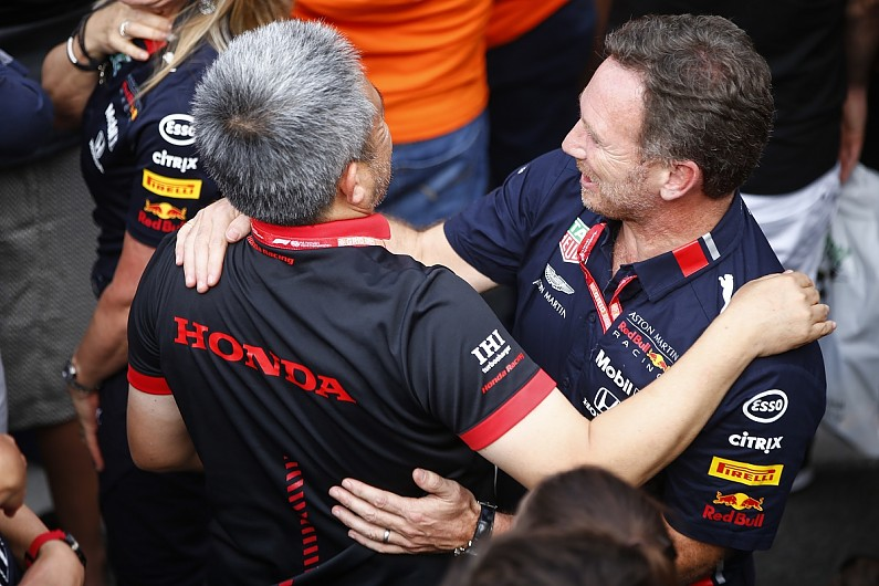 "Red Bull: First year with Honda in Formula 1 ""beyond expectations"""