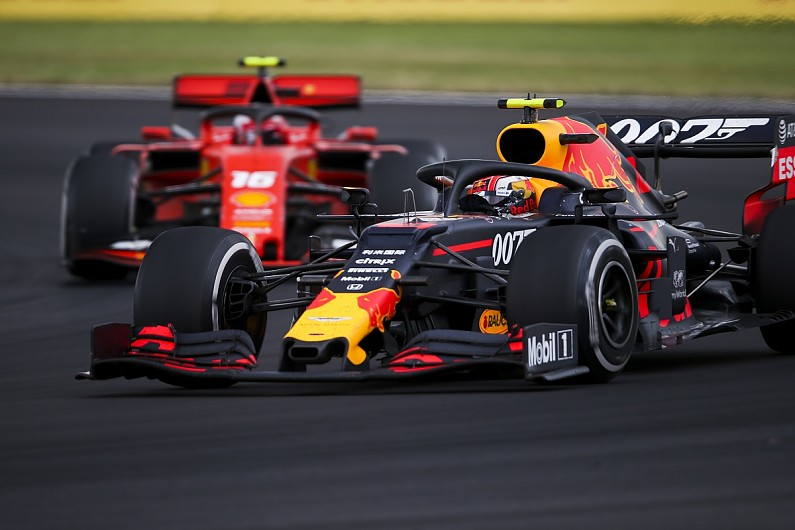 "Horner: Red Bull's Gasly like a ""different driver"" in F1 British GP"
