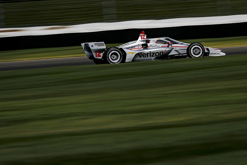IndyCar Indianapolis: Power on pole for second Harvest GP race - Motor Informed