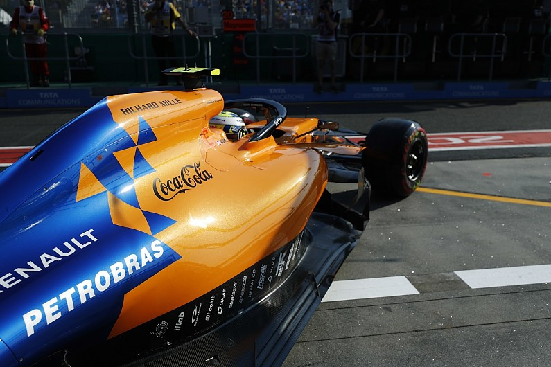 McLaren not using Petrobras for start of 2019 Formula 1