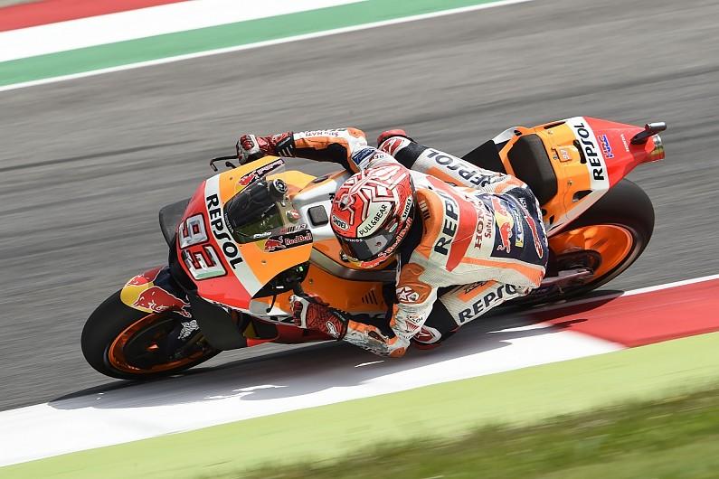 Moto Gp Mugello Marquez Tops Fp3 Vinales Resigned To Q1 Motogp