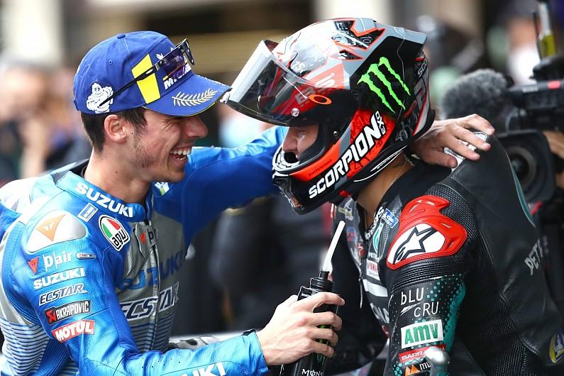 "Quartararo: MotoGP title battle with ex-Moto3 team-mate Mir a ""cool story"" - Motor Informed"