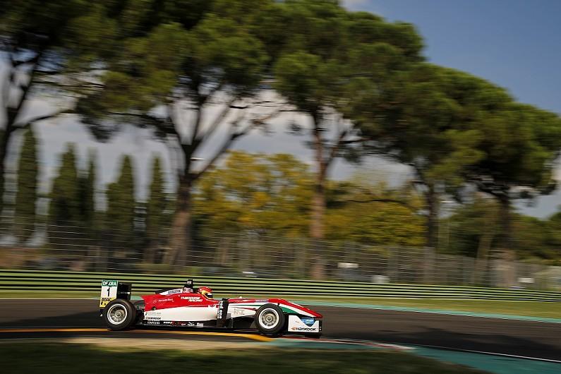 European F3 Imola Williams F1 Prospect Lance Stroll Takes Pole F3 Autosport