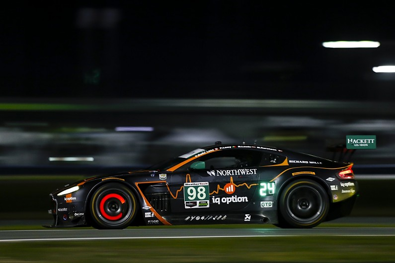 Aston Martin enters first factory car at Daytona 24 Hours since '17
