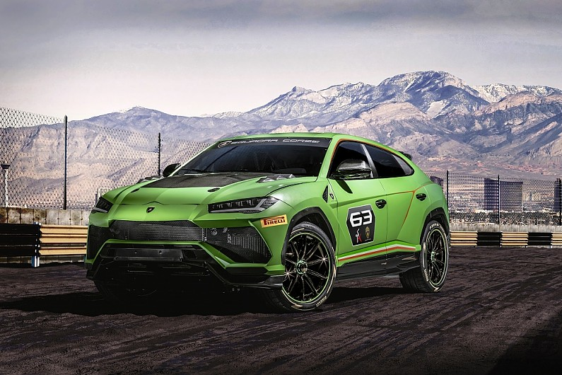 Lamborghini Unveil New Suv Racing Series To Launch In 2020 Gt