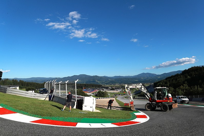 The difficulties in making the Red Bull Ring safer for MotoGP