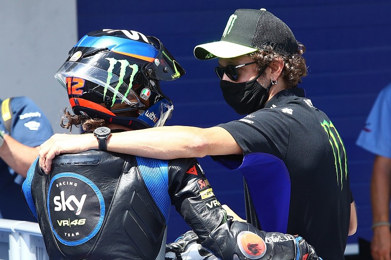 """Rossi reacts to post-Andalusian GP """"disaster"""" for VR46 riders - Motor Informed"""