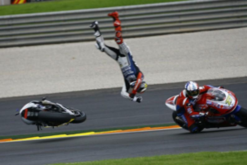 Valencia MotoGP: Jorge Lorenzo blames James Ellison for crash - MotoGP - Autosport