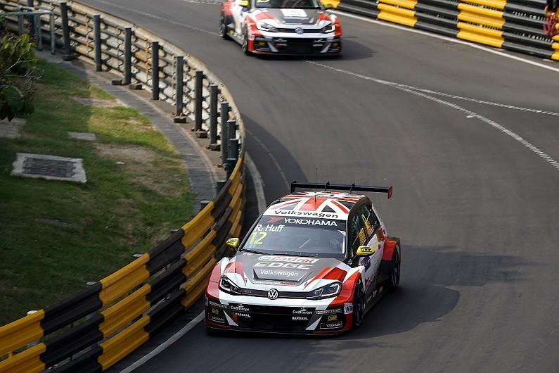 Macau WTCR: Rob Huff and Yvan Muller top dramatic qualifying