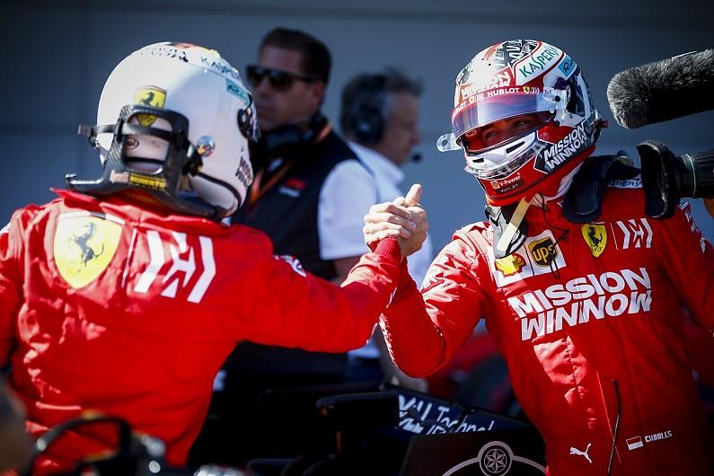 "F1 News: Leclerc ""happy"" to keep Vettel as 2021 Ferrari ..."