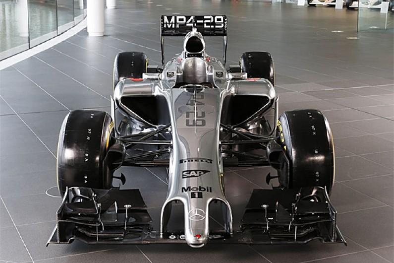 mclaren reveals its 2014 formula 1 car - f1 - autosport