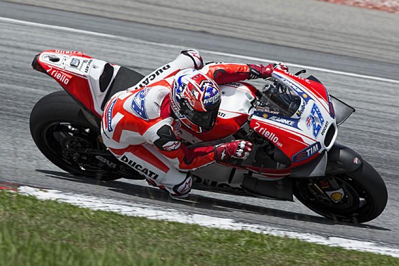 Casey Stoner begins Ducati MotoGP test return at Sepang - MotoGP - Autosport