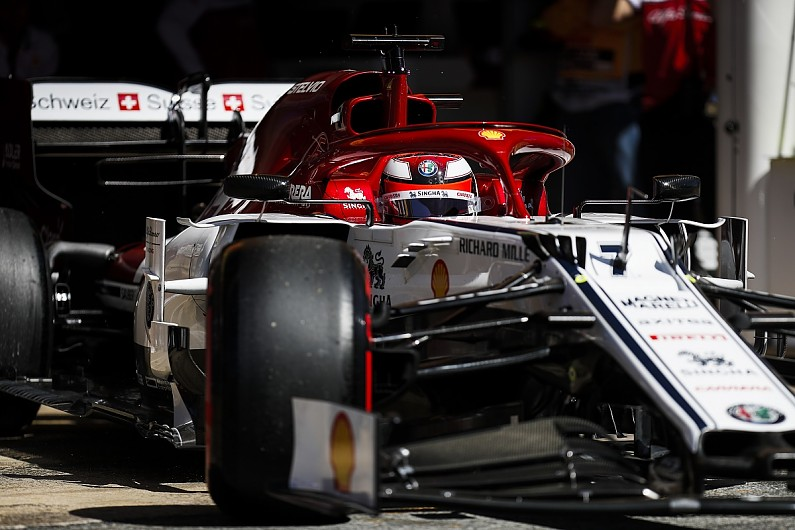 Alfa Romeo makes permanent front wing fix after Baku exclusion