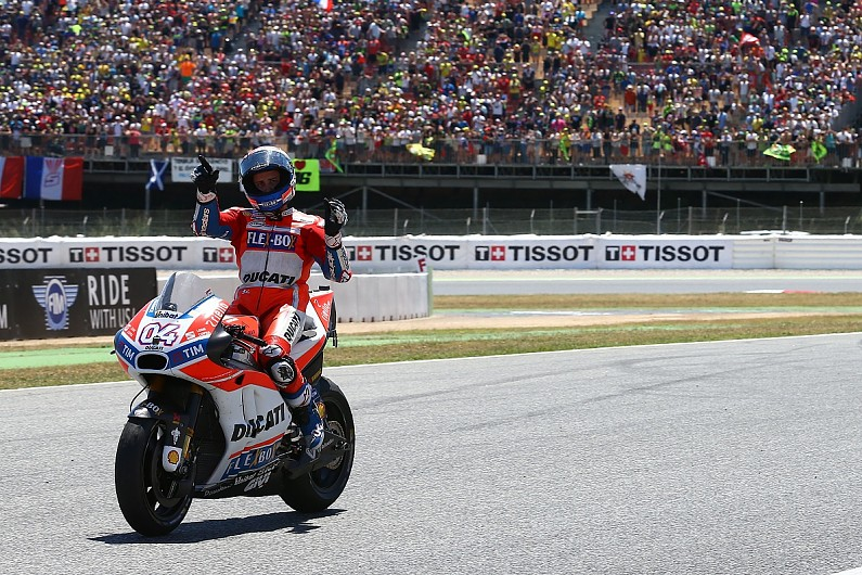 andrea dovizioso: back-to-back motogp wins 'not reality' for