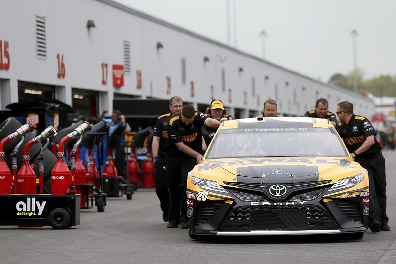 Eight cars put to back of Richmond NASCAR Cup Series race grid