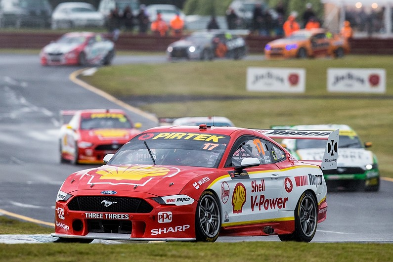 "Triple Eight: DJR Team Penske Supercars fines ""a waste of time"""