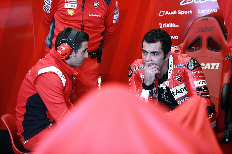 Ducati rider Petrucci's 2019 MotoGP ambition was cause of his slump