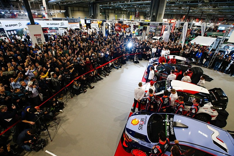2019 World Rally Championship Launch At Autosport International