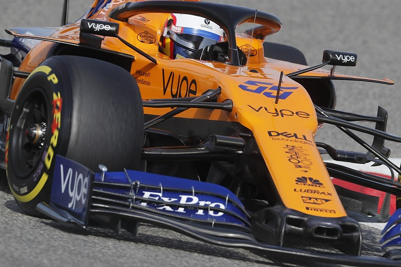 Mclaren S Bat Branding To Increase Significantly For 2020 F1 Season F1 Autosport