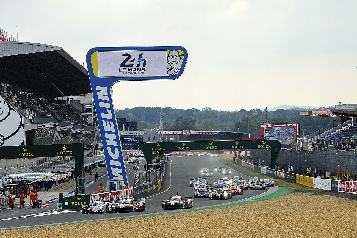 le mans 24 hours conway leads for toyota after opening hour drama in lmp2 wec autosport le mans 24 hours conway leads for