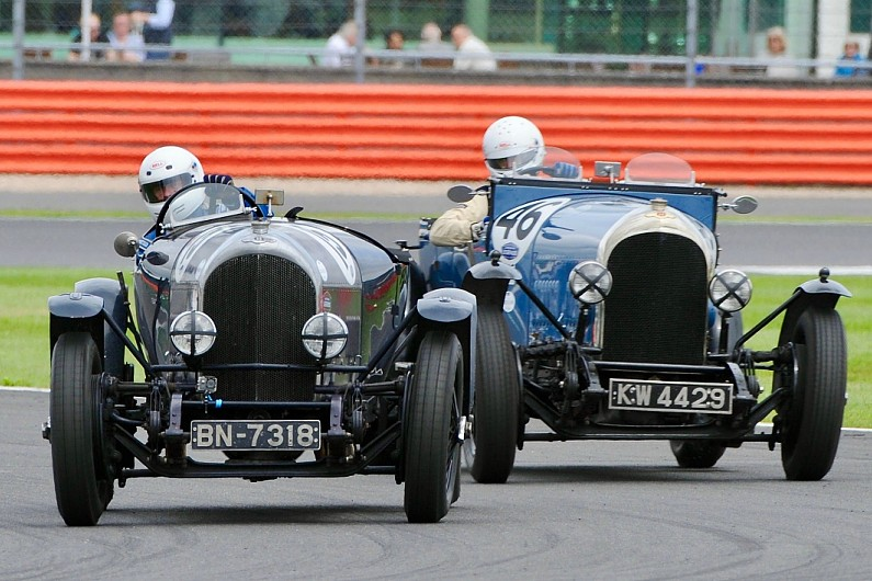 Record pre-War Bentley grid planned for centenary at Silverstone Classic