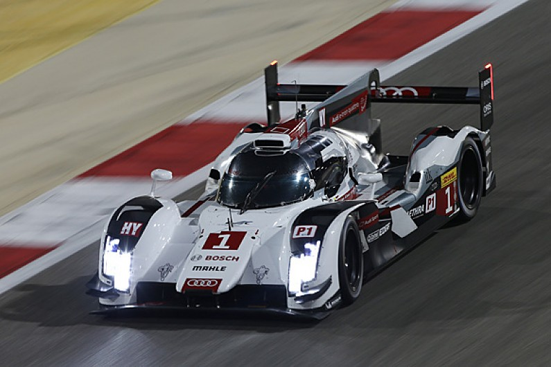 bahrain wec: audi makes changes after chassis damage | wec