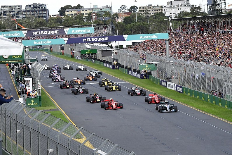 Formula 1 2019 race start times announced