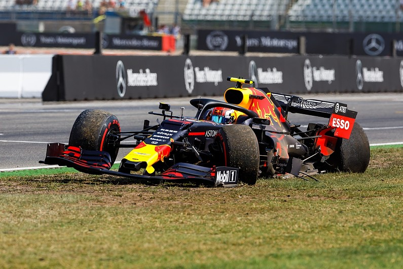 History Of Safety Devices In Formula 1 The Halo Barriers More F1 Autosport