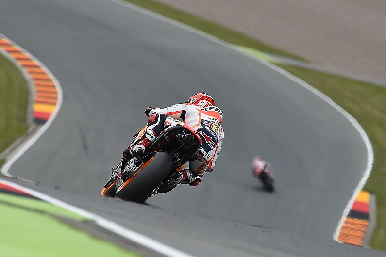 Top MotoGP riders blame weather for crashes at Sachsenring