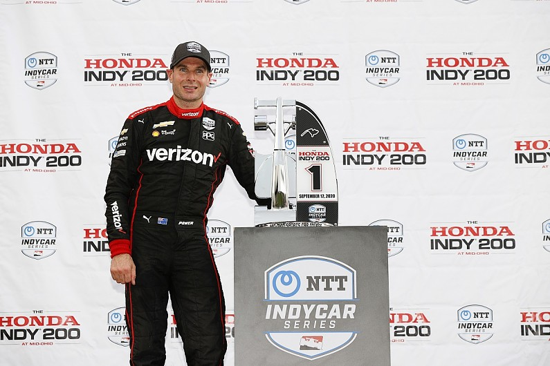 Mid-Ohio IndyCar: Power takes commanding win in race one, Dixon only 10th - Motor Informed