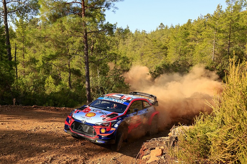 "Tanak ""pretty sure"" he will restart Rally Turkey after steering issue - Motor Informed"