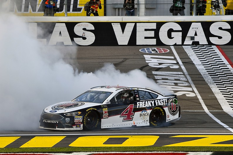 Kevin Harvick S Las Vegas Nascar Win Answers Questions For 2018