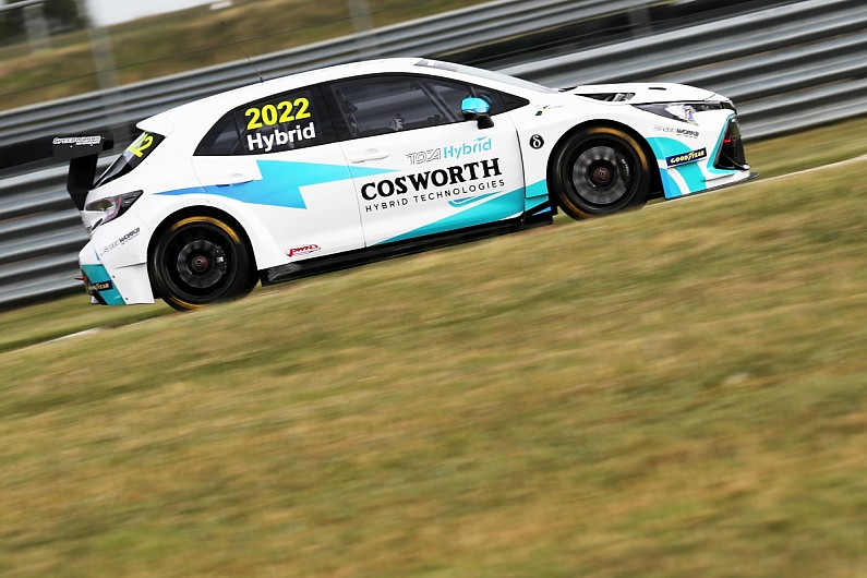 Speedworks BTCC team happy with first circuit test of hybrid system