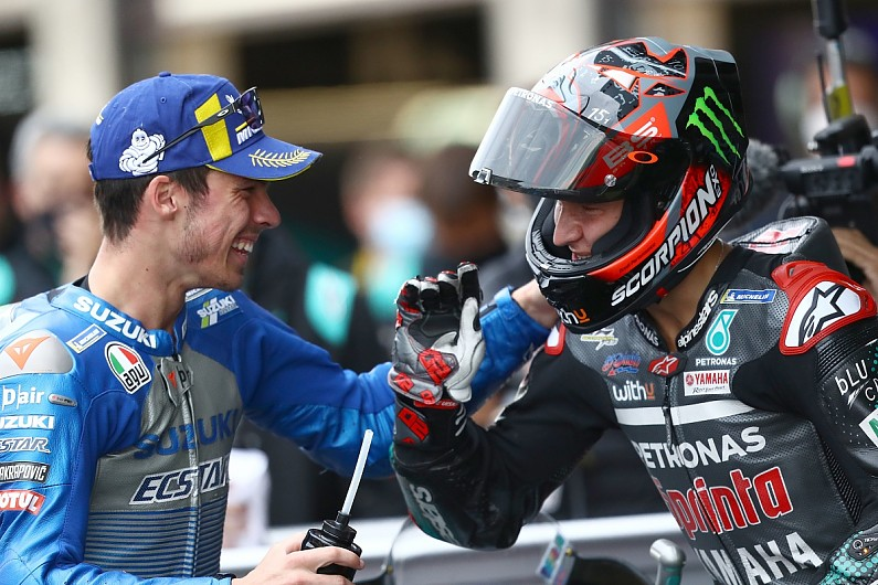 """Mir: """"Too early"""" to be considered MotoGP favourite - Motor Informed"""