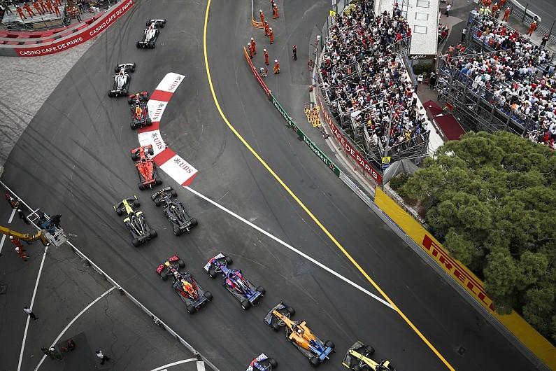 Monaco GP presented with Gregor Grant Award