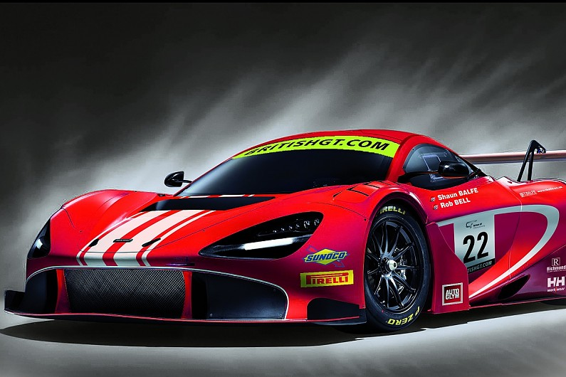 balfe motorsport squad to race new mclaren 720s gt3 in british gt national autosport. Black Bedroom Furniture Sets. Home Design Ideas
