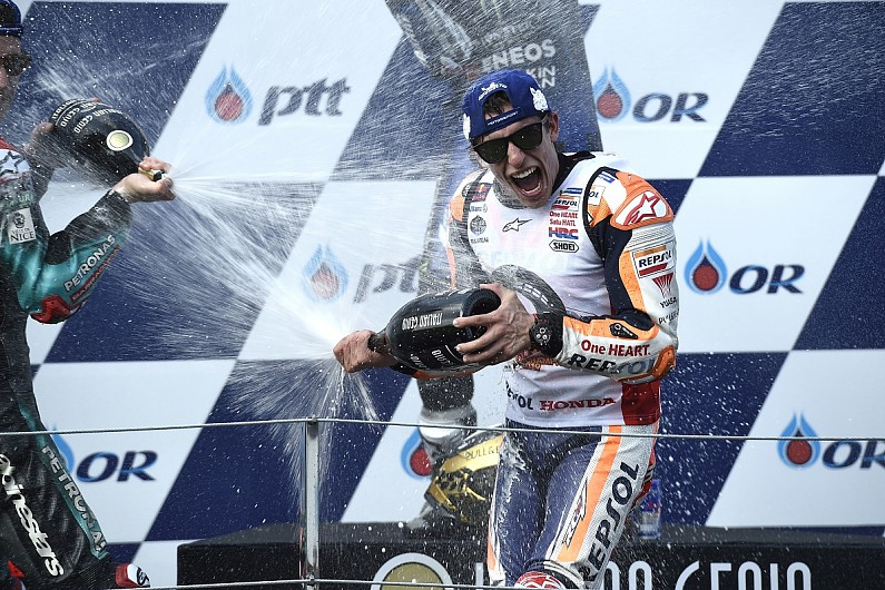 Six-time MotoGP champion Marquez crowned Rider of the Year