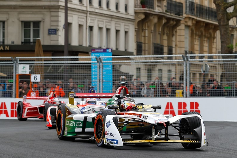 Daniel abt 39 stood up 39 to declare paris formula e plan to for Eplan for drivers