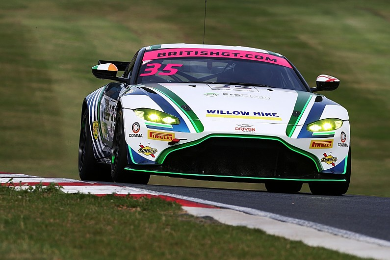 Promoted: Jack Butel prepares for British GT finale at Donington